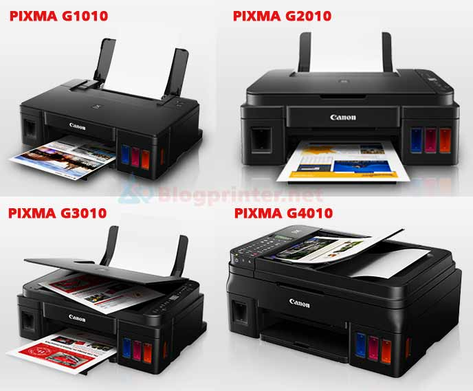 Review 4 printer canon gseries terbaru