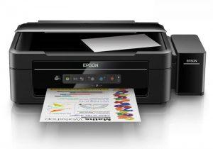 Printer Epson Multifungsi Jaringan Wifi Infus