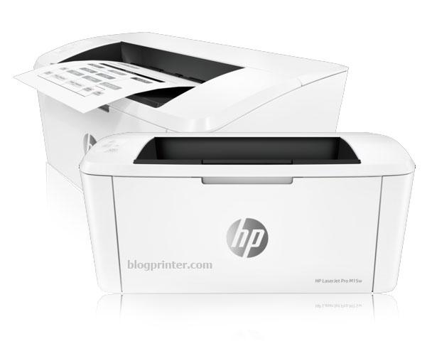 Model Tampilan Printer HP Laserjet Pro-M15w Wireless